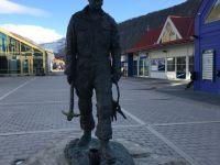 Pomnik górnika na deptaku
