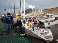 Marina - Krysia i załoga rejsu Tromso-Longyearbyen