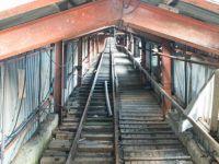 Piramida - tunel dawnej kopalni