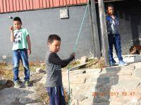 Miejscowe dzieciaki
