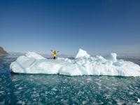Marcin na górze lodowej
